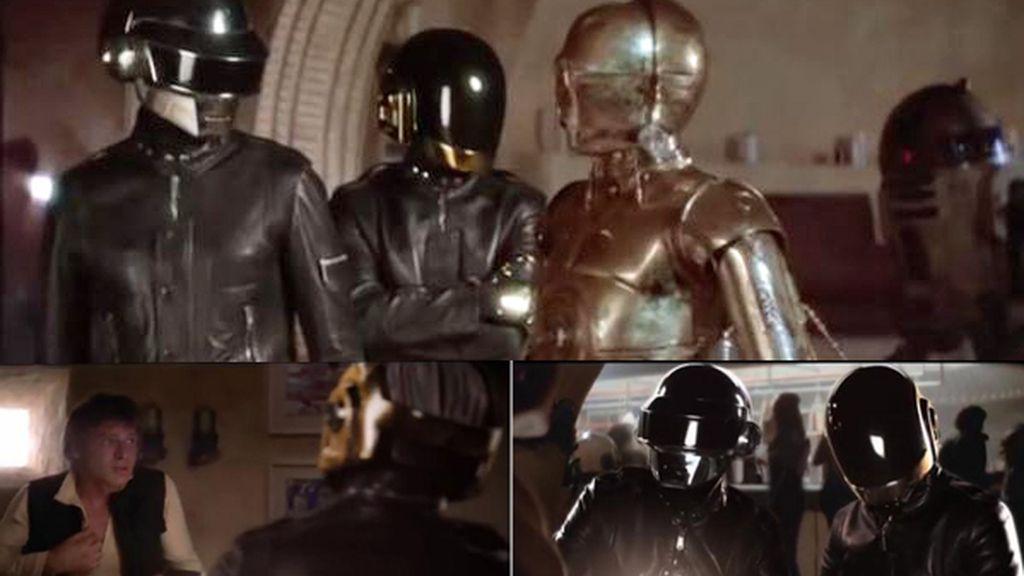 Daft Punk en un spot
