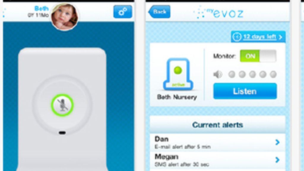 La aplicación que permite monitorizar lo que hace el bebé en todo momento. Foto: App Store