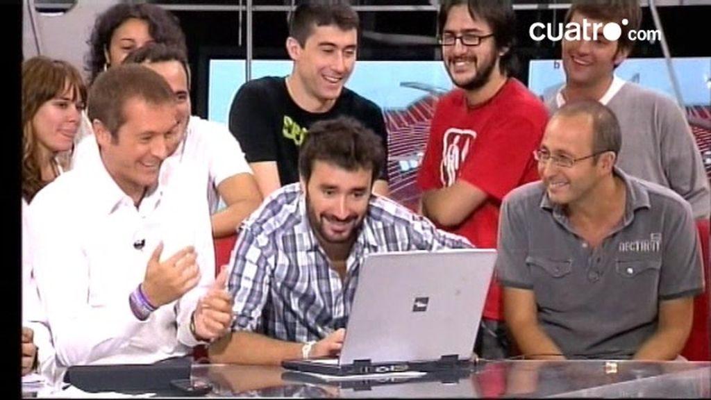 Videochat Los Manolos 20 de septiembre 2010: segunda parte