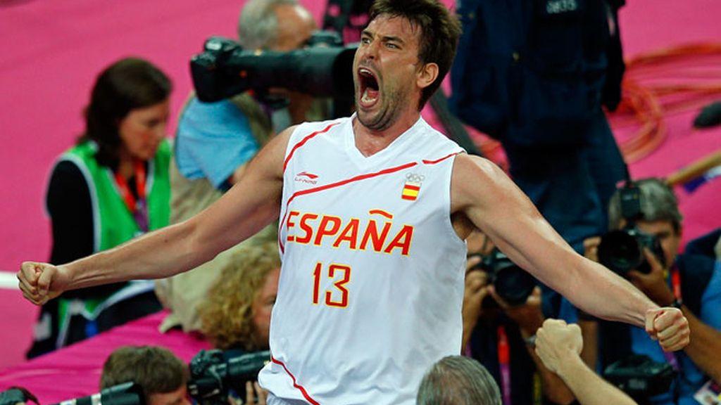 La selección española de baloncesto se clasifica para la final de los Juegos Olímpicos de Londres 2012