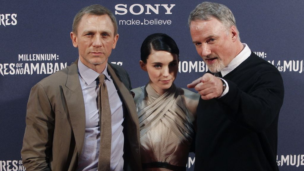 Daniel Craig presenta la última de 'Millenium' en Madrid