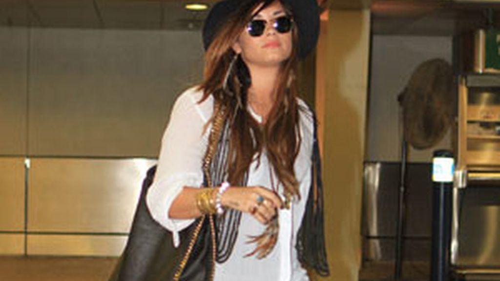 Demi Lovato salió de rehabilitación en febrero. Foto: Gtres
