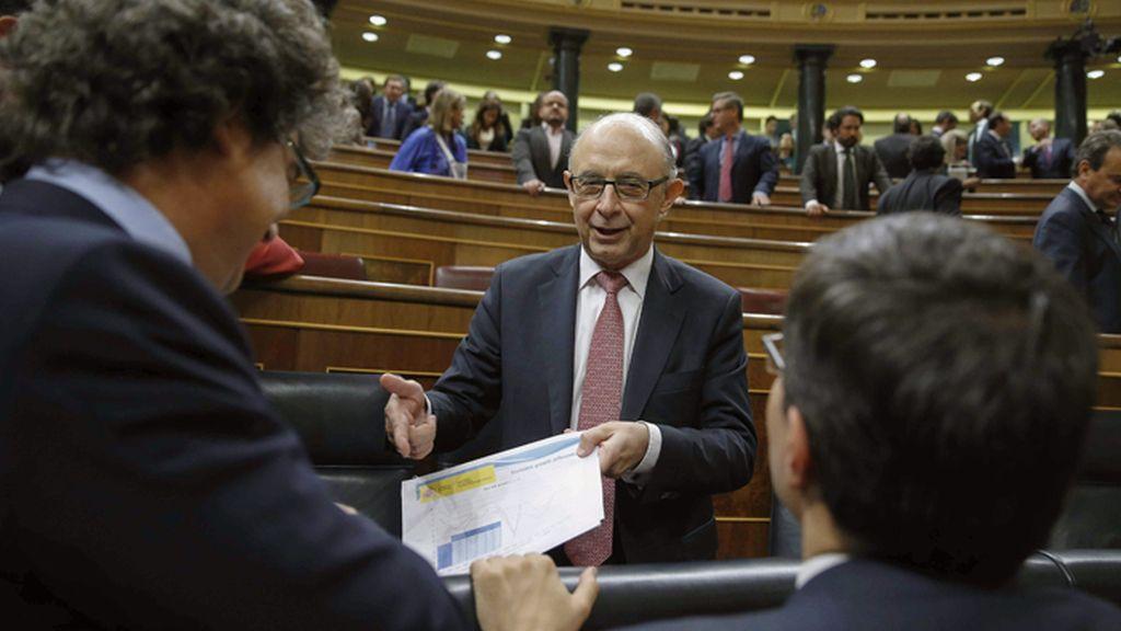 El Congreso aprueba los Presupuestos de 2016