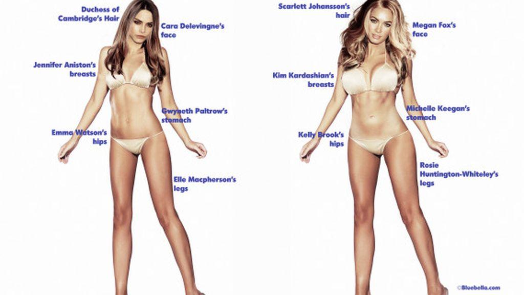 ¿Cómo es el cuerpo perfecto?
