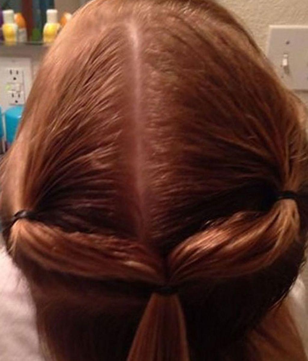 Los 10 increíbles peinados que un padre soltero hizo a su hija de 3 años