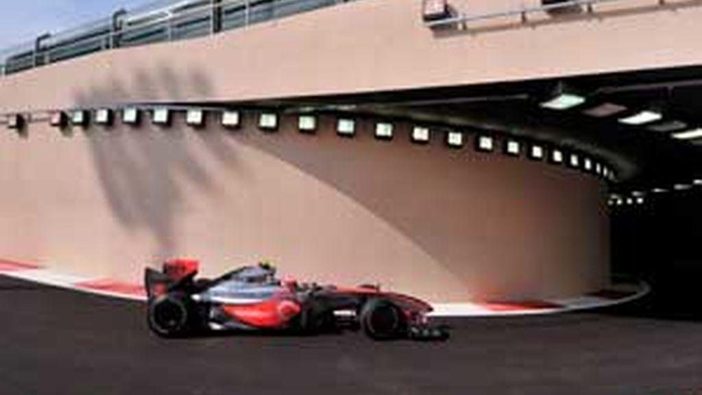 McLaren ha dominado los libres de esta mañana en el último GP del mundial de Fórmula 1. FOTO: EFE