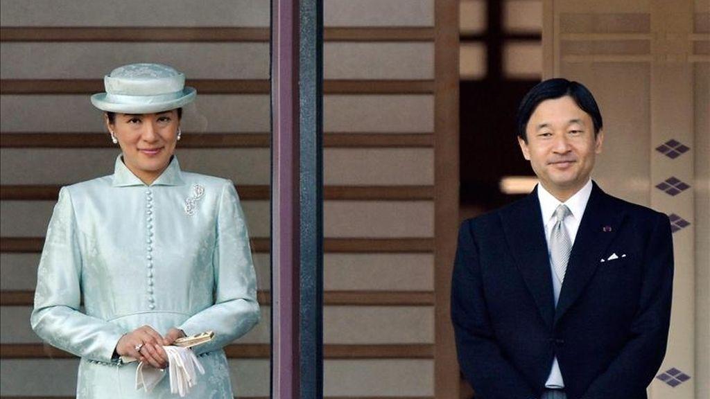 Los príncipes herederos de Japón, Naruhito y Masako. EFE/Archivo