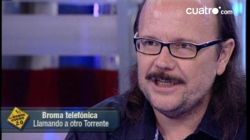 Santiago Segura gasta bromas por teléfono en El Hormiguero