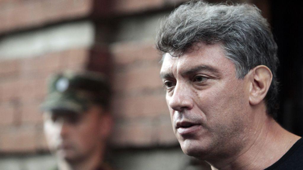 Boris Nemtsov, líder opositor ruso