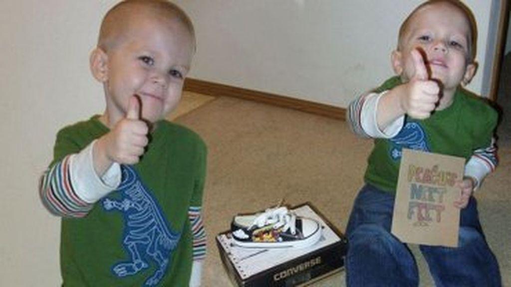 El conmovedor de un pequeño niño con cáncer