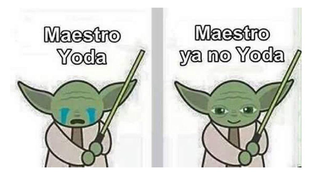 El Maestro ya no Yoda
