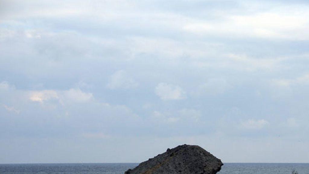 Playa del Monsul, cerca del Cabo de Gata