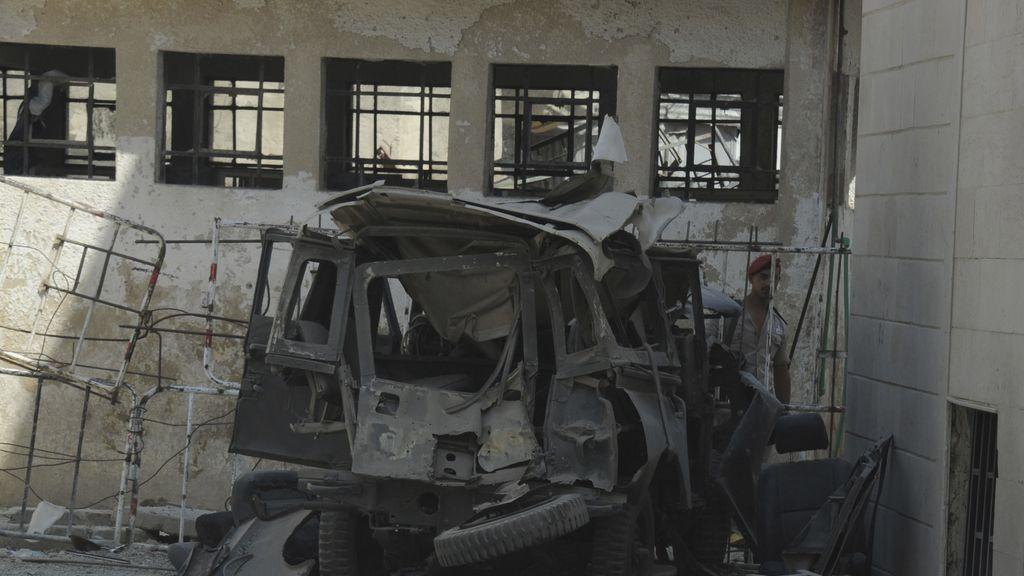 Atentado en Damasco. Foto: Reuters