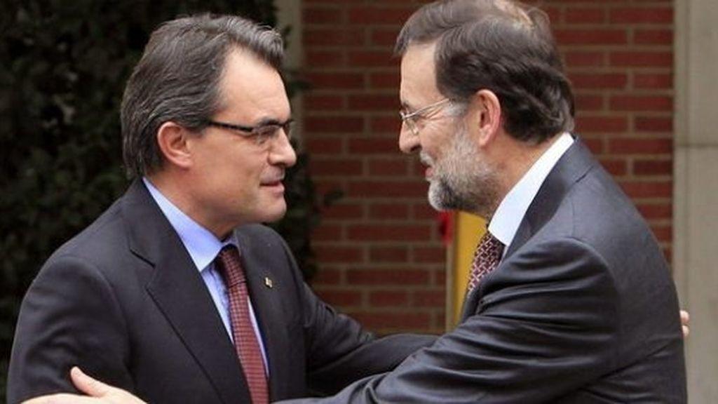 Imagen de archivo de Mariano Rajoy y Artur Mas