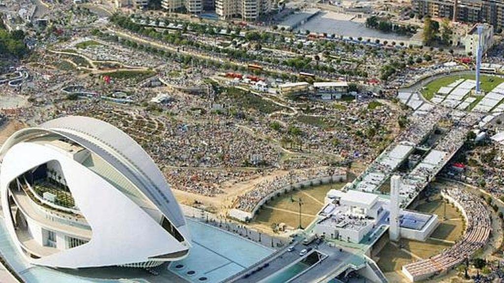 Visita del Papa Benedicto XVI a Valencia