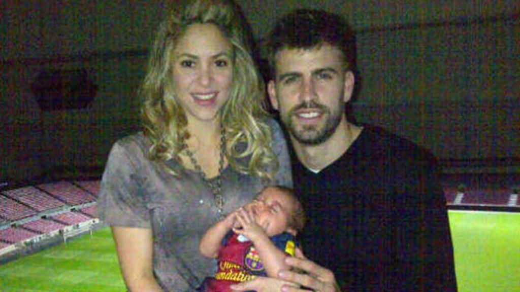 Milan Piqué, hijo de Shakira y Gerard Piqué