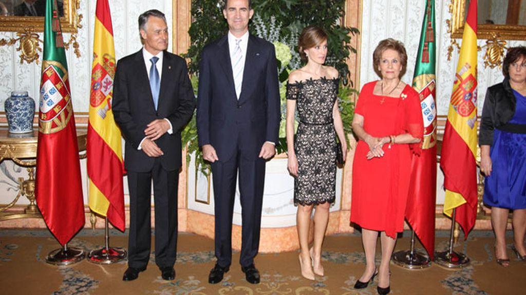 Los príncipes de Asturias deslumbran en Portugal