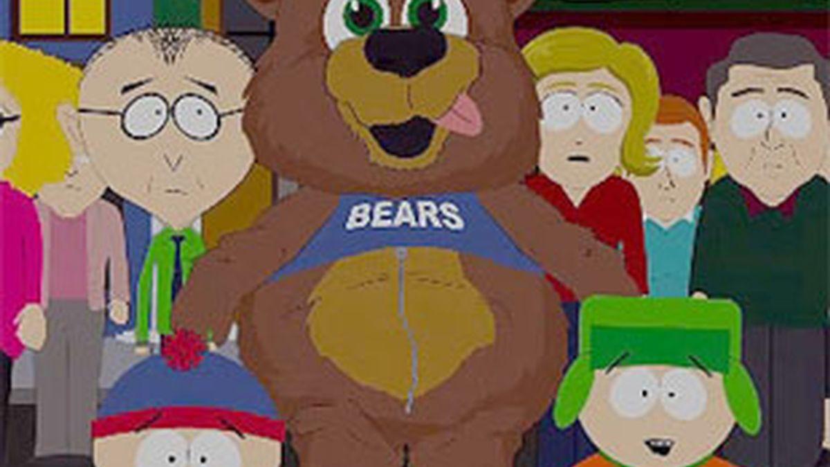 Mahoma aparece disfrazado de oso en un capítulo de South Park.
