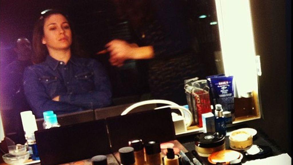 Sesión de maquillaje y peluquería...