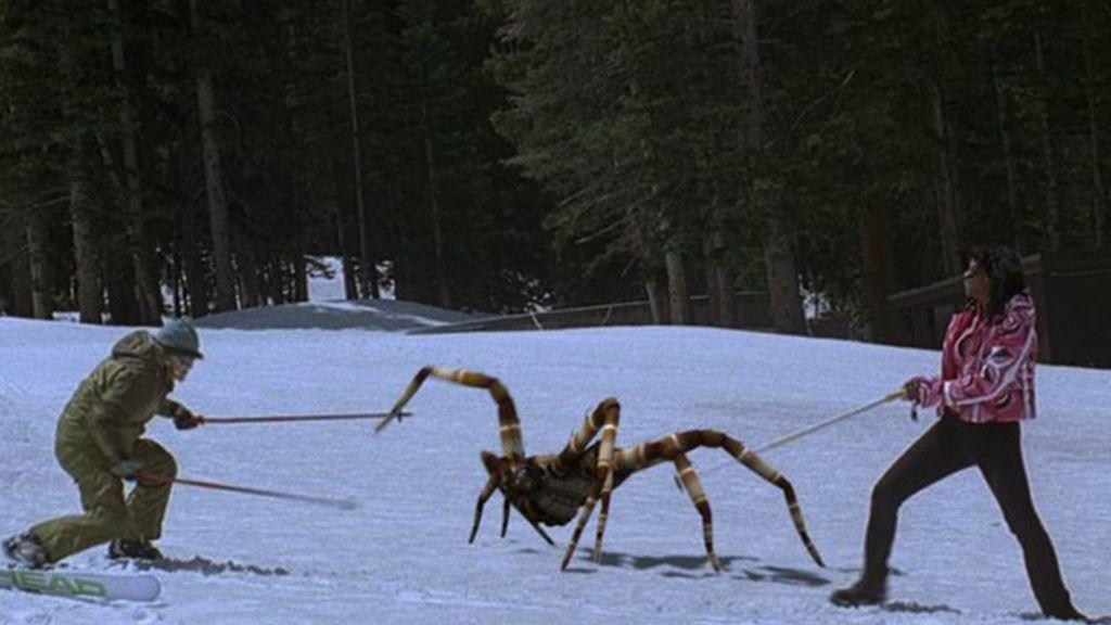 Arañas devoradoras