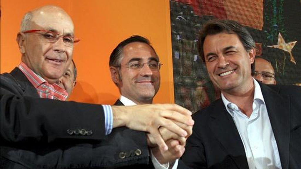 En la imagen, el presidente de CiU, Artur Mas. EFE/Archivo