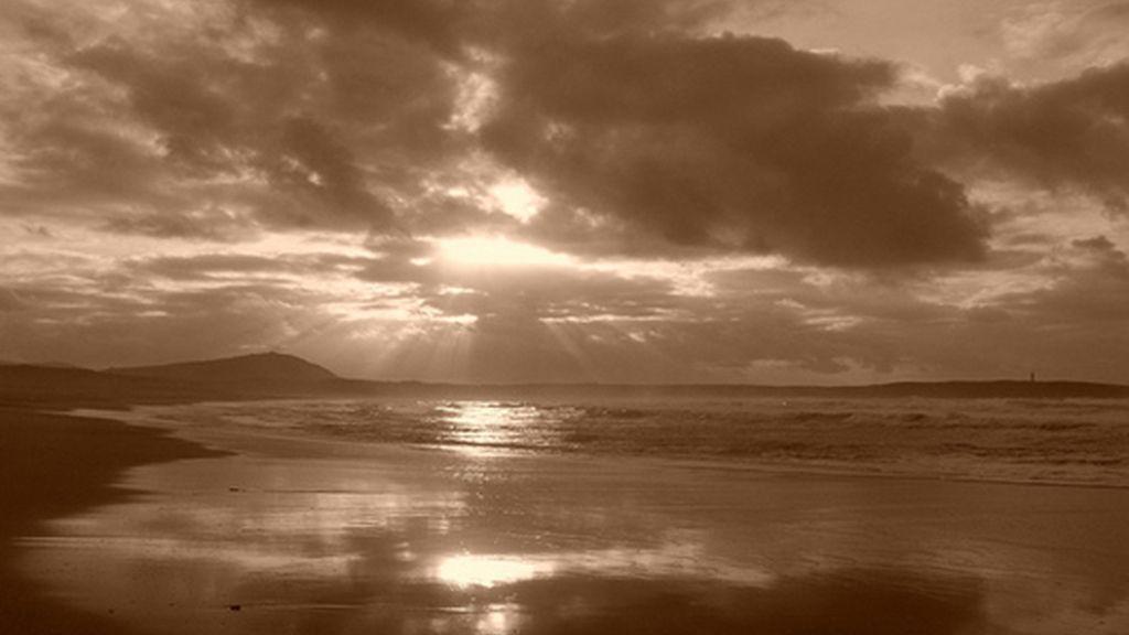 Playa de A Frouxeira, en Valdoviño