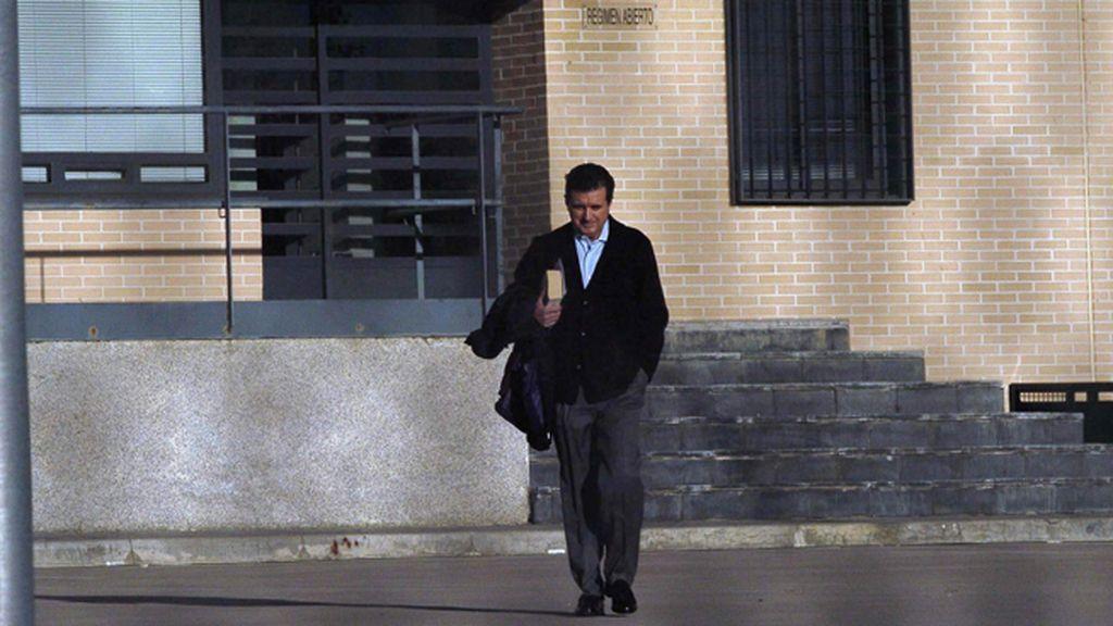 Jaume Matas abandona la prisión