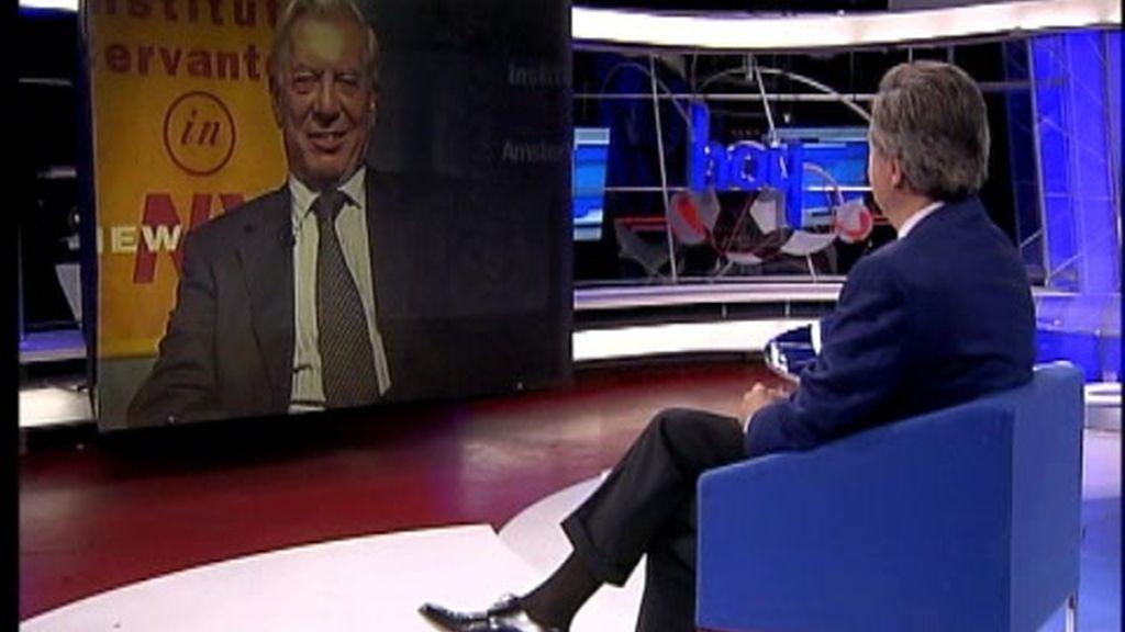 Iñaki Gabilondo entrevista al Nobel Mario Vargas Llosa