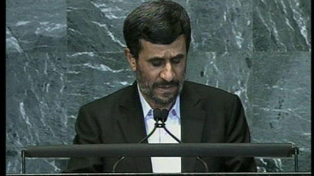 Indignación contra Ahmadineyad