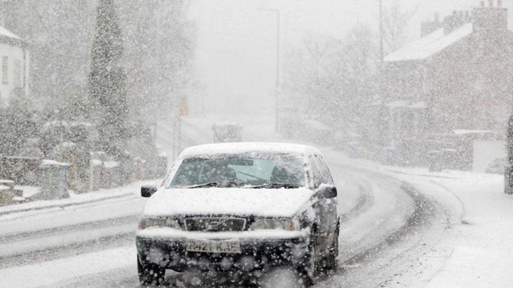 La nieve y las bajas temperaturas sacuden Europa
