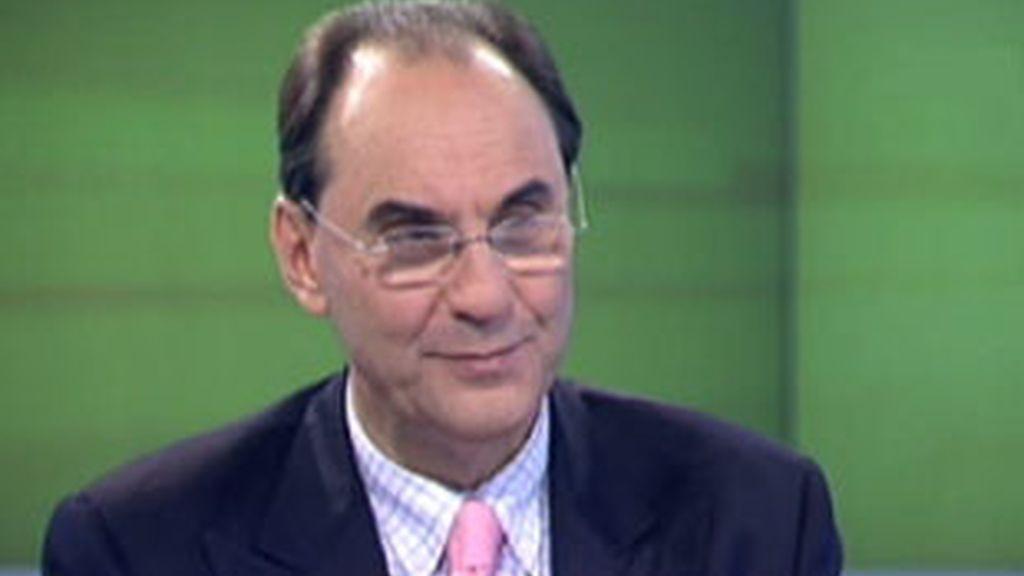Alejo Vidal Quadras durante su entrevista en La Mirada Crítica de Telecinco