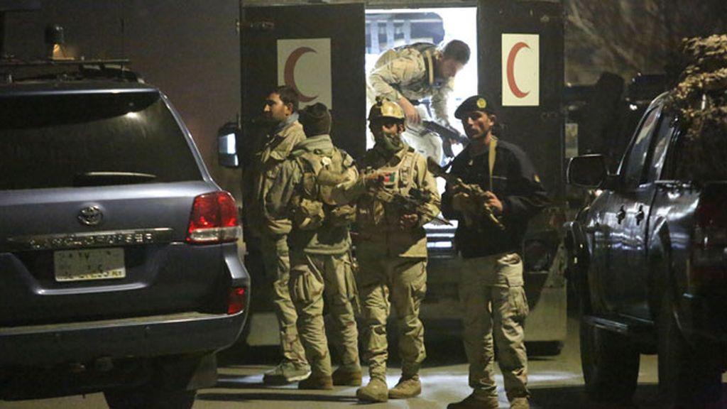 El atentado terrorista de Kabul, en imágenes