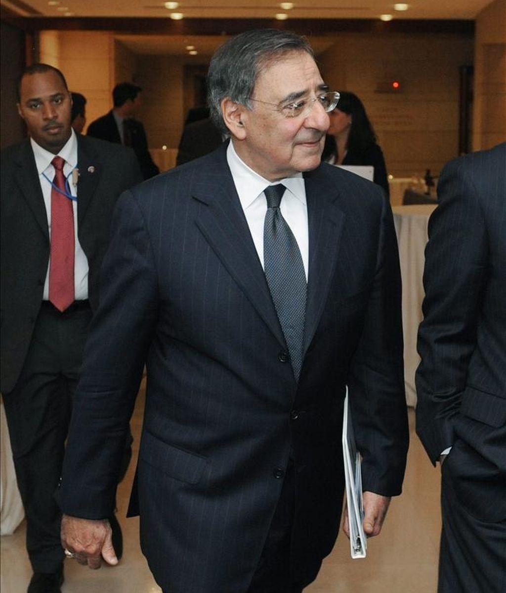 Imagen del director de la Agencia Central de Inteligencia (CIA) Leon Panetta. El jefe de la principal agencia de inteligencia paquistaní (ISI), Ahmad Shuja Pasha, se reunirá con su colega estadounidense. EFE