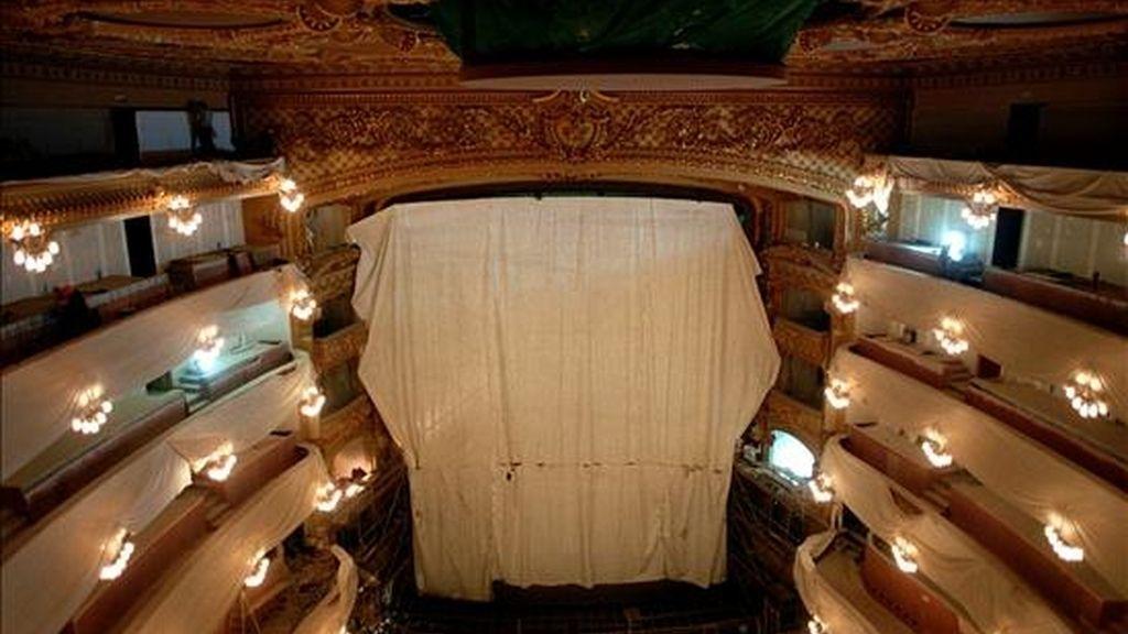 Vista del coliseo del Gran Teatro del Liceo. EFE/Archvio