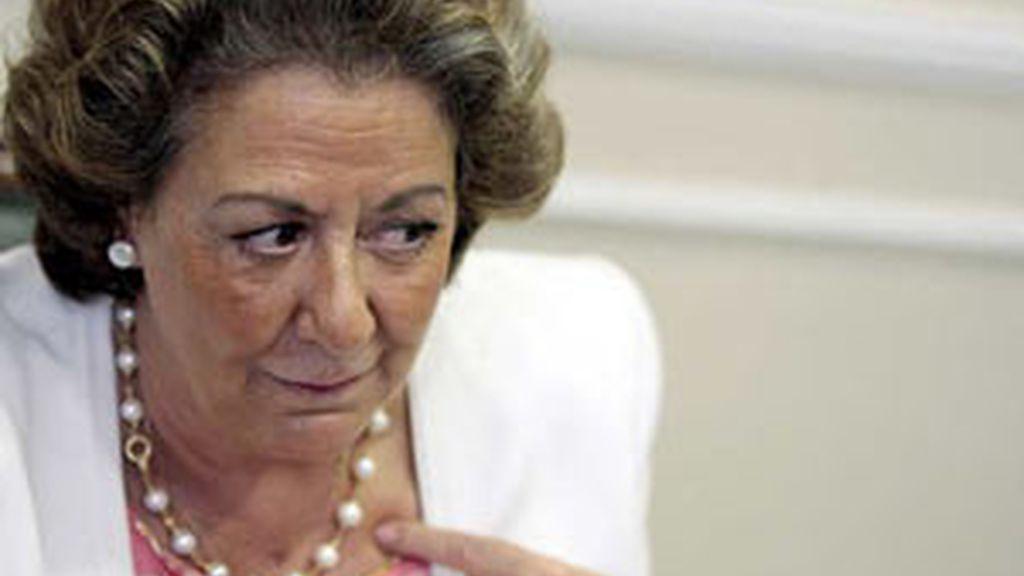 La alcaldesa de Valencia, Rita Barberá FOTO: EFE/archivo