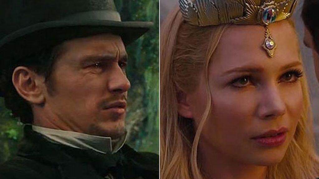 Los buenos del mundo de Oz: James Franco y Michelle Williams