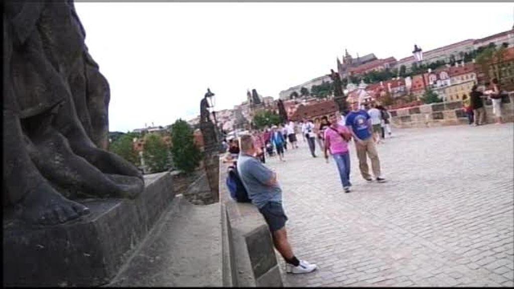 Praga: El puente Karlov