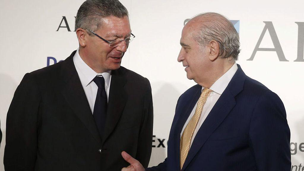 El ministro del Interior, Jorge Fernández Díaz, en el Foro ABC