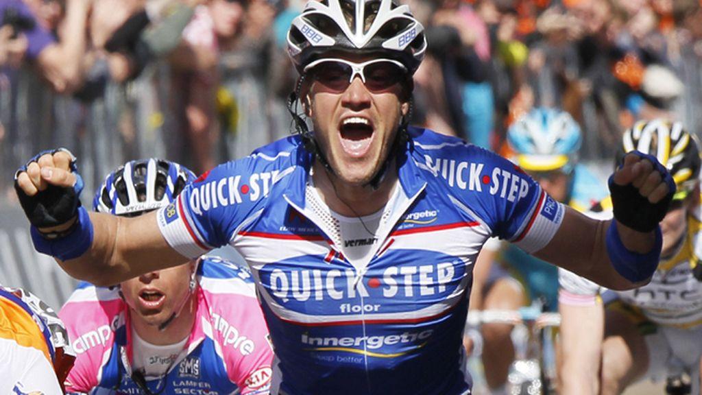 El ciclista belga, Wouter Weylandt