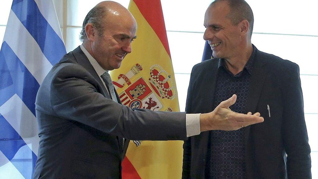 Varoufakis y de Guindos, cara a cara