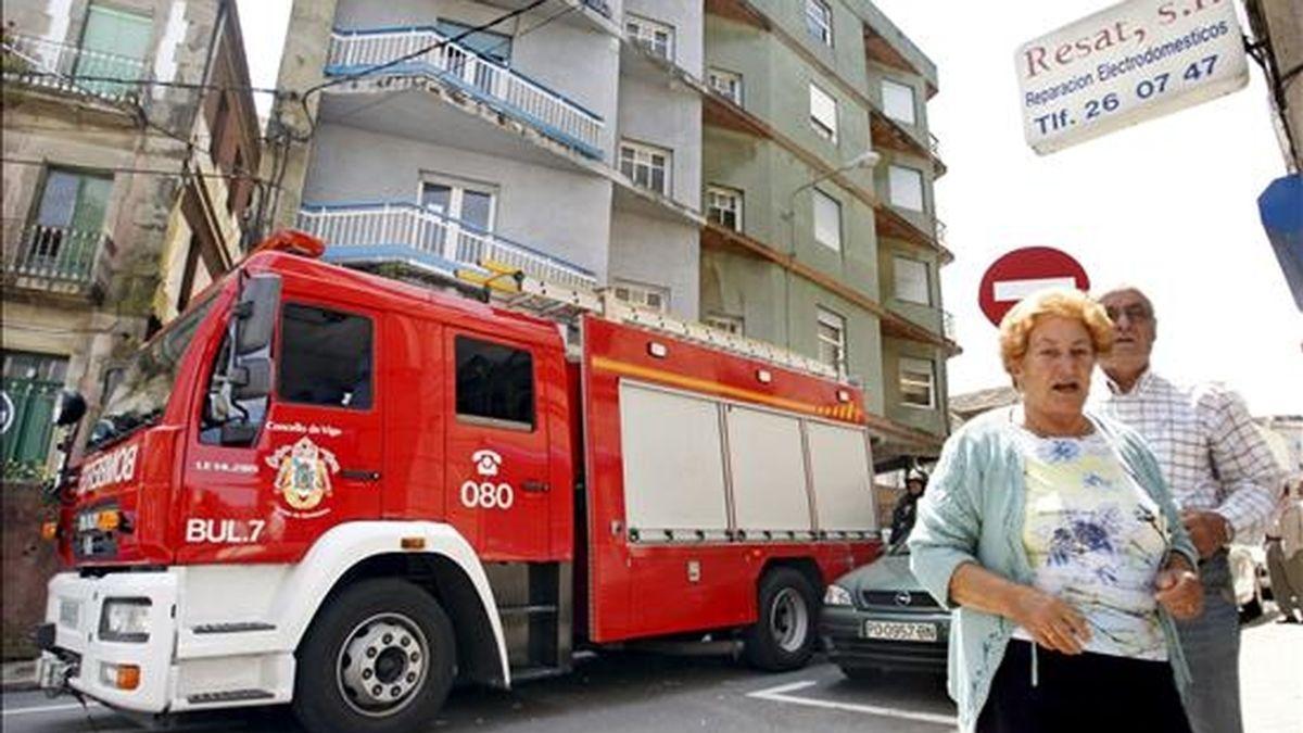 Un matrimonio de Vigo ha sido hallado muerto en su vivienda después de que los vecinos alertaran de su ausencia durante varios días, informaron a Efe fuentes de los bomberos de Vigo. EFE/Archivo