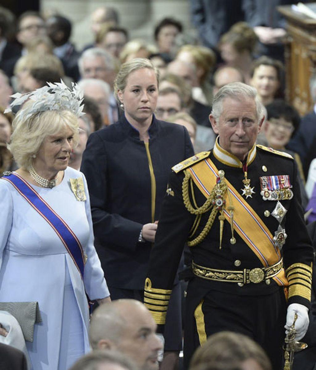 Carlos de Inglaterra y su consorte, Camila Parker Bowles