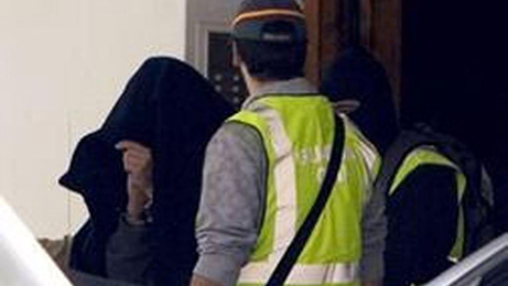 La casa del detenido ha sido registrada tras el arresto del joven. FOTO: EFE