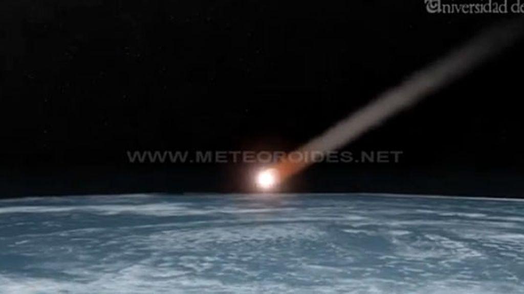 asteriode caído,Toledo,asteroide,cometa,roca,impacto atmósfera,Tierra