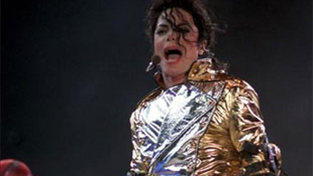 Imagen de archivo del rey del pop, Michael Jackson. Foto: EFE.