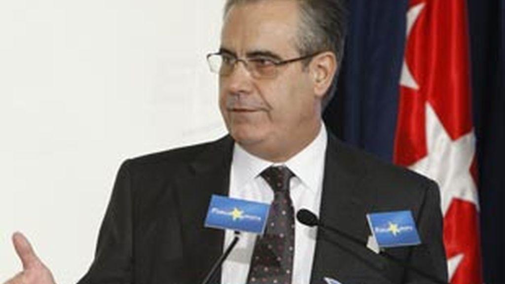 Celestino Corbacho, minsitro de Trabajo. Foto: EFE