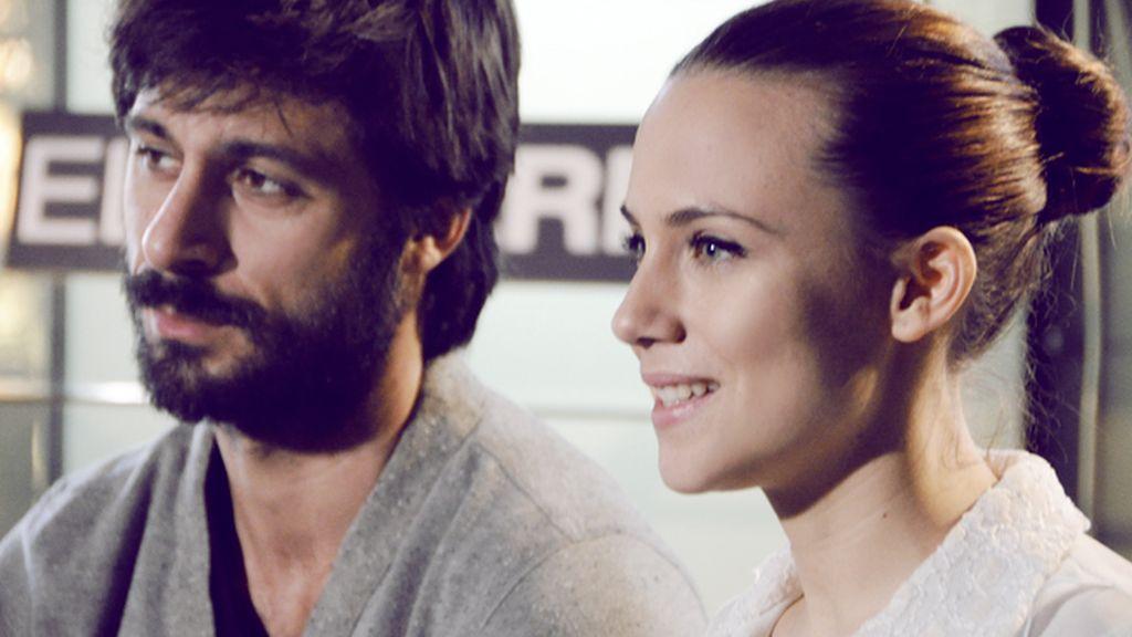 Los actores Hugo Silva y Aura Garrido