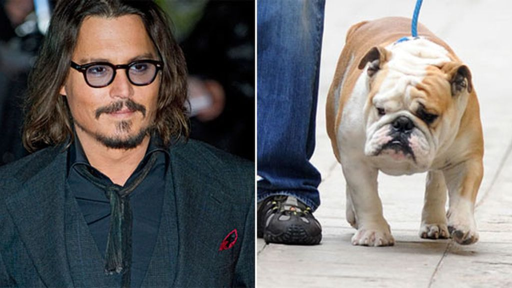 Johnny Depp y Jacques. Foto: Gtres/The Sun
