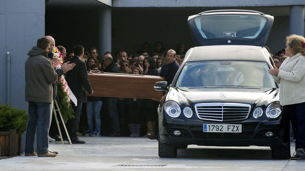 Último adios a Katia, una de las fallecidas en la macrofiesta del Madrid Arena