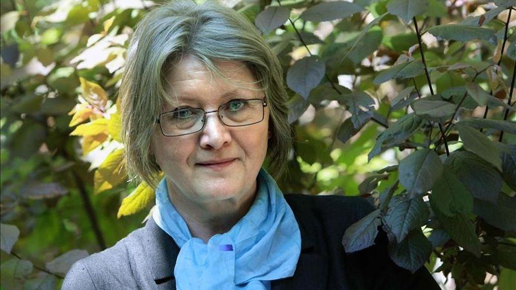 Eva Gabrielsson, quien fuera compañera de Stieg Larsson. EFE/Archivo